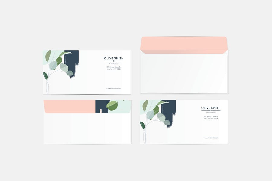 Olive Identity Stationery Template - 3