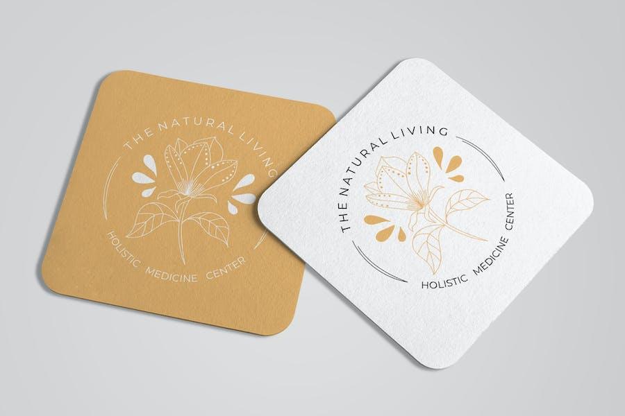 Elegant Floral Logo Templates - 3