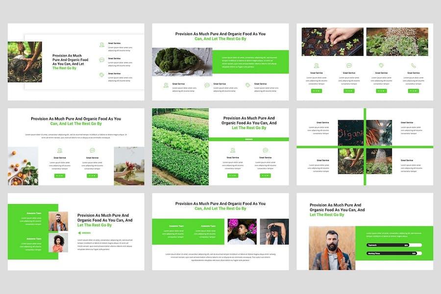 Greenes - Organic Keynote Template - 1