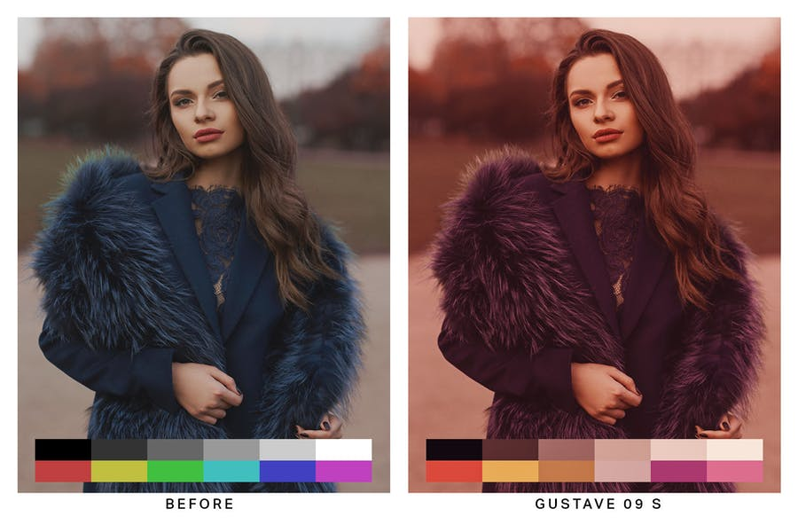 50 Budapest Pink Lightroom Presets and LUTs - 2