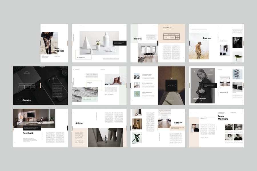 Nano Indesign Brochure - 2