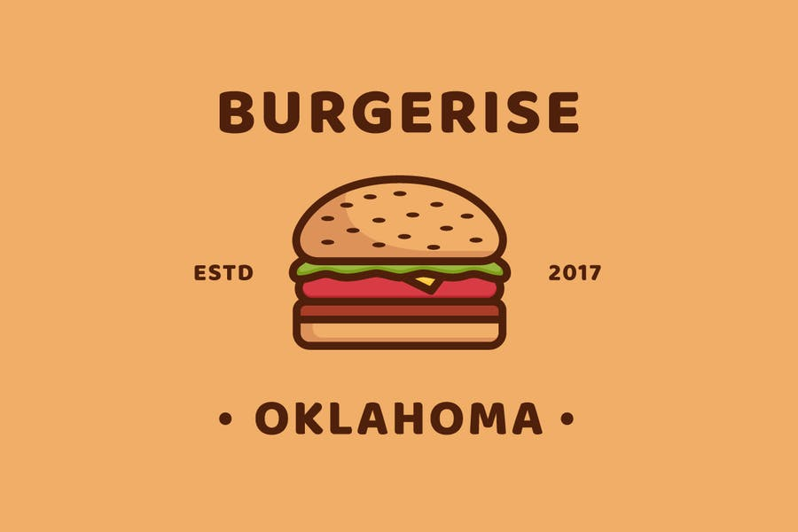 Burger - Logo Template - 0