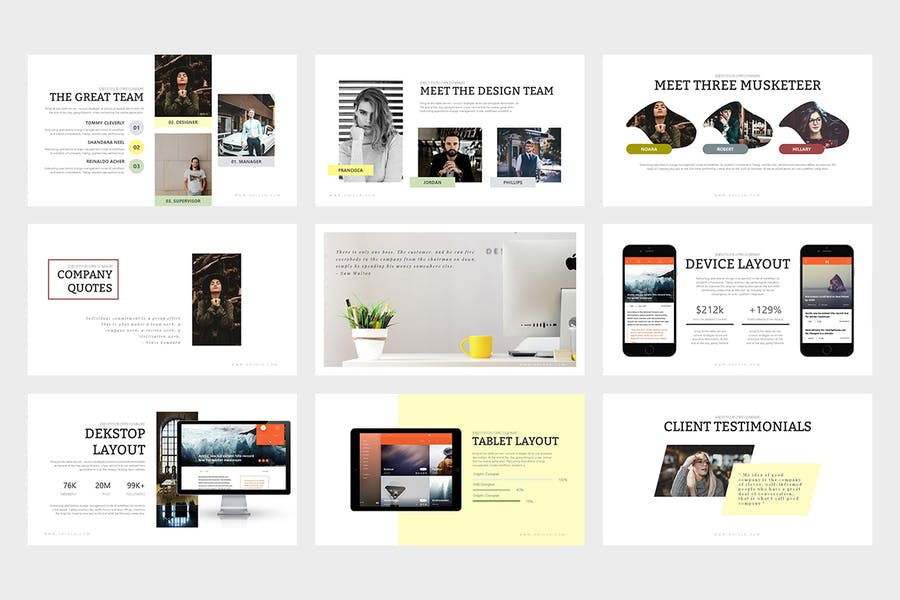 Oriola : Business Powerpoint Template - 3