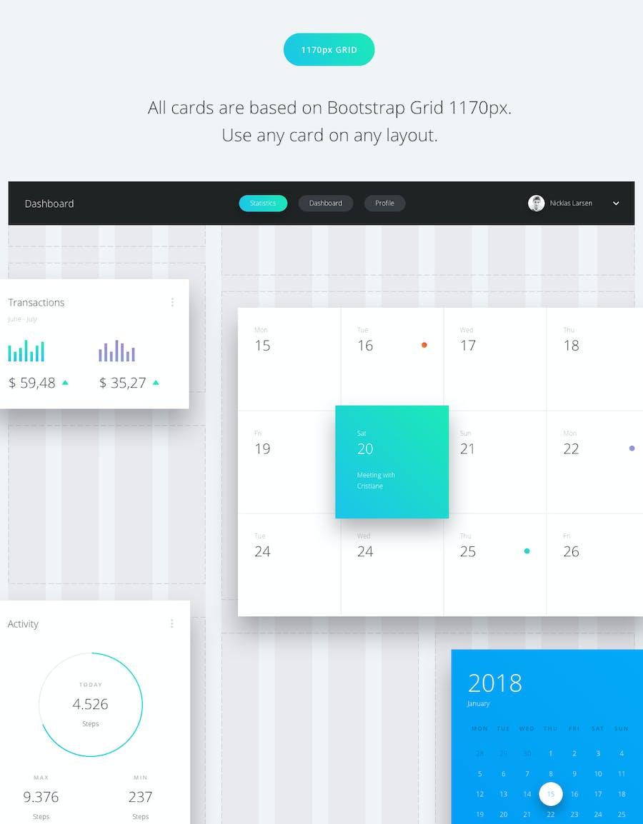 Datta - Dashboard UI Kit - 2