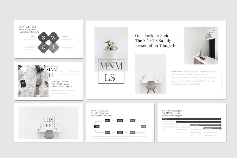 Mnmls - Keynote Template - 3