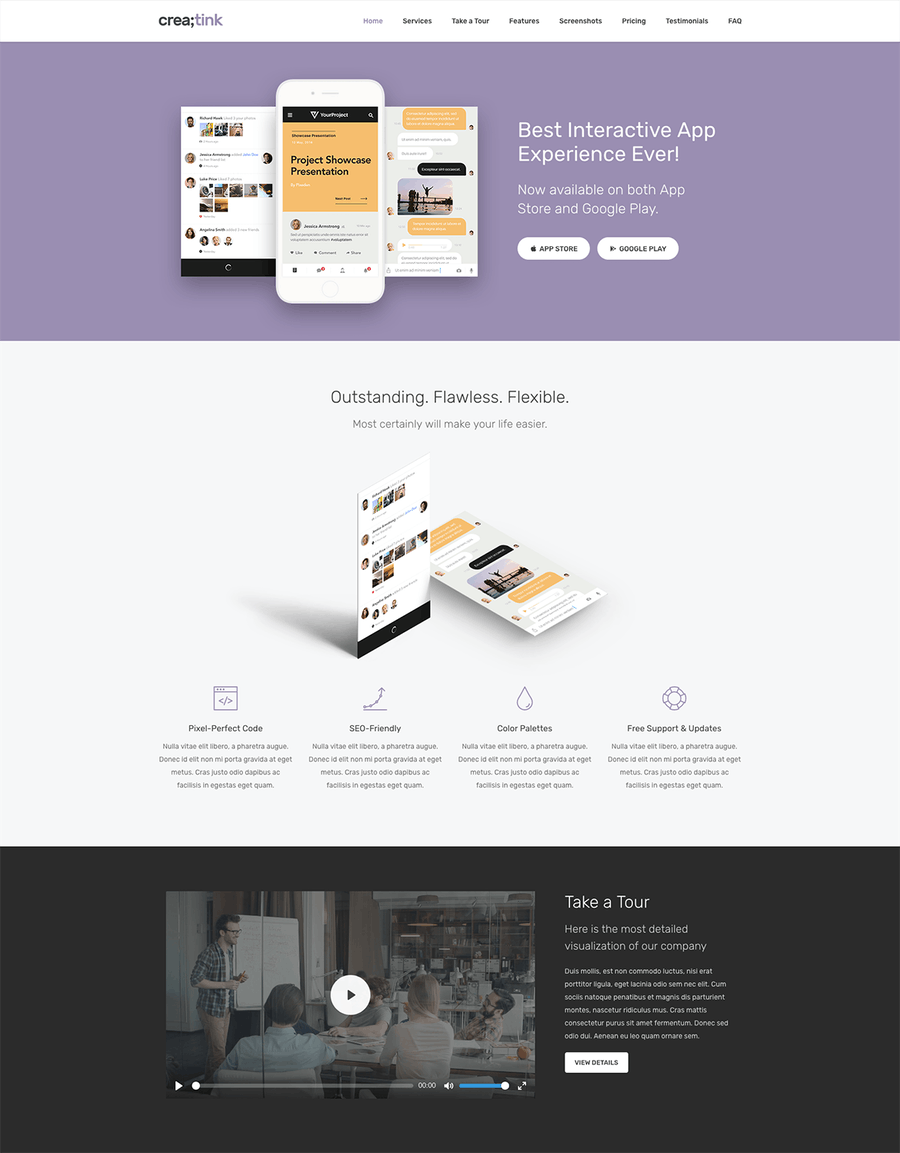Crea;tink Multi-Concept HTML5 Template - 2