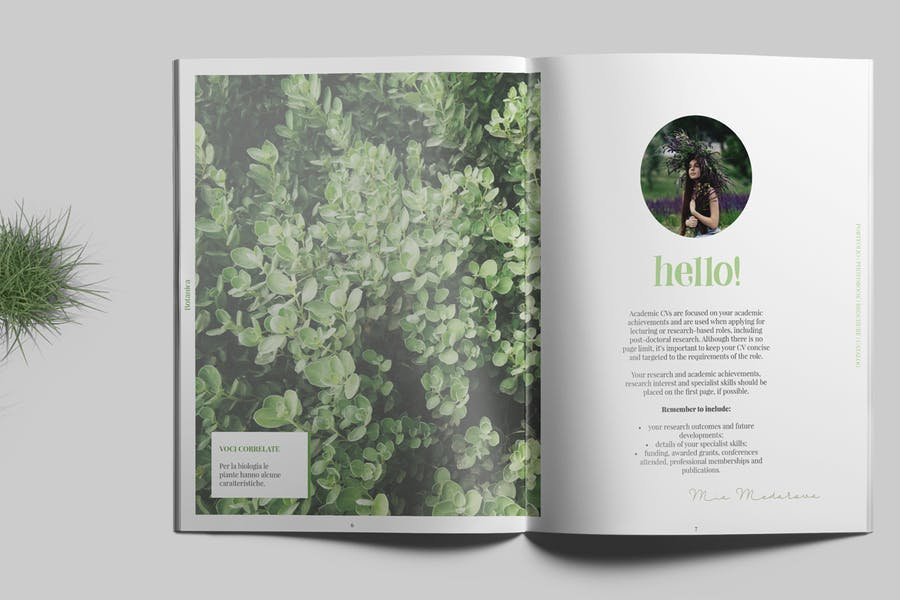 Botanica - Portfolio / Photobook / Brochure - 2