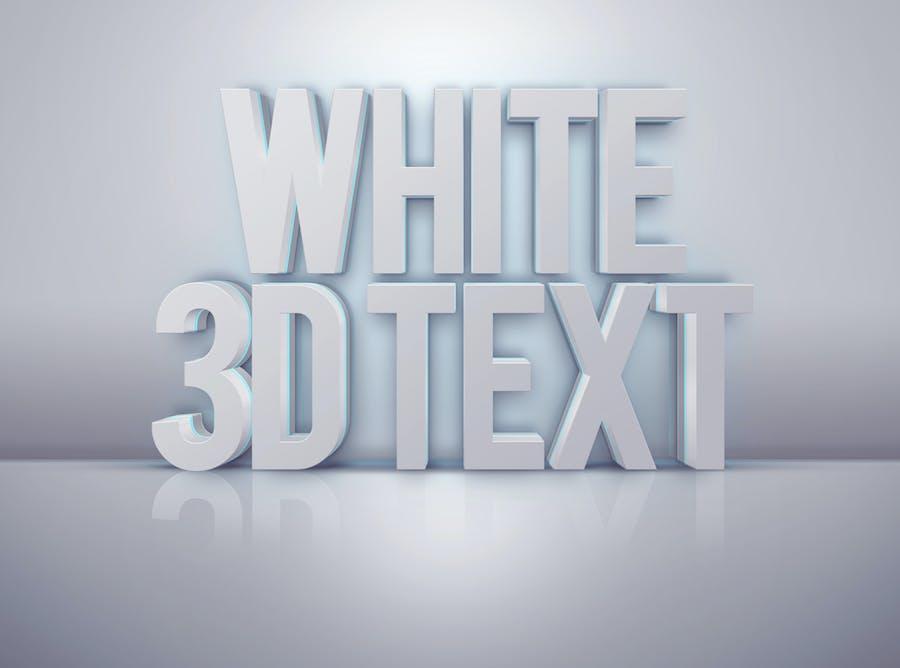 Pro 3D Text Mockups - 1