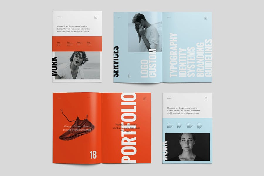 ELEMENTAL: Brochure and Portfolio - 1