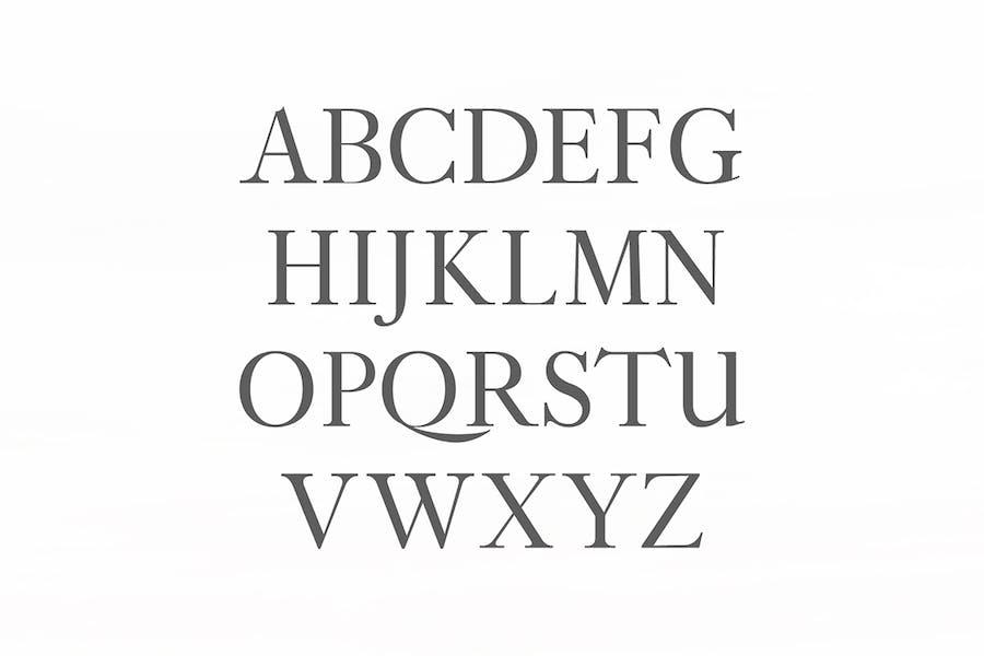 Adallyn Serif Font Family Pack - 0