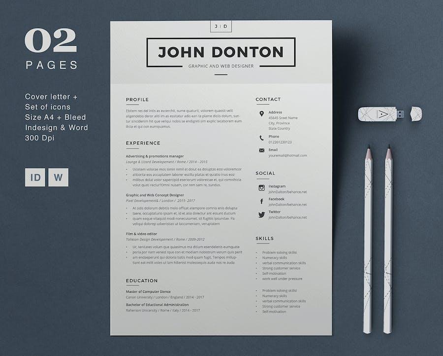 Resume John - 2