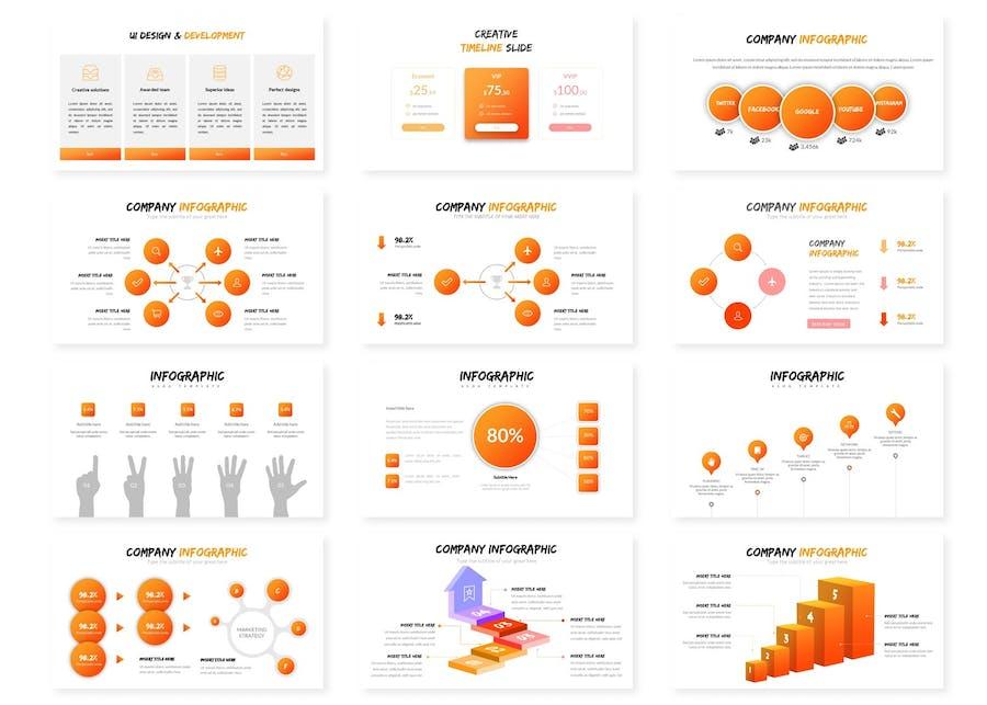 Circles - Google Slides Template - 1