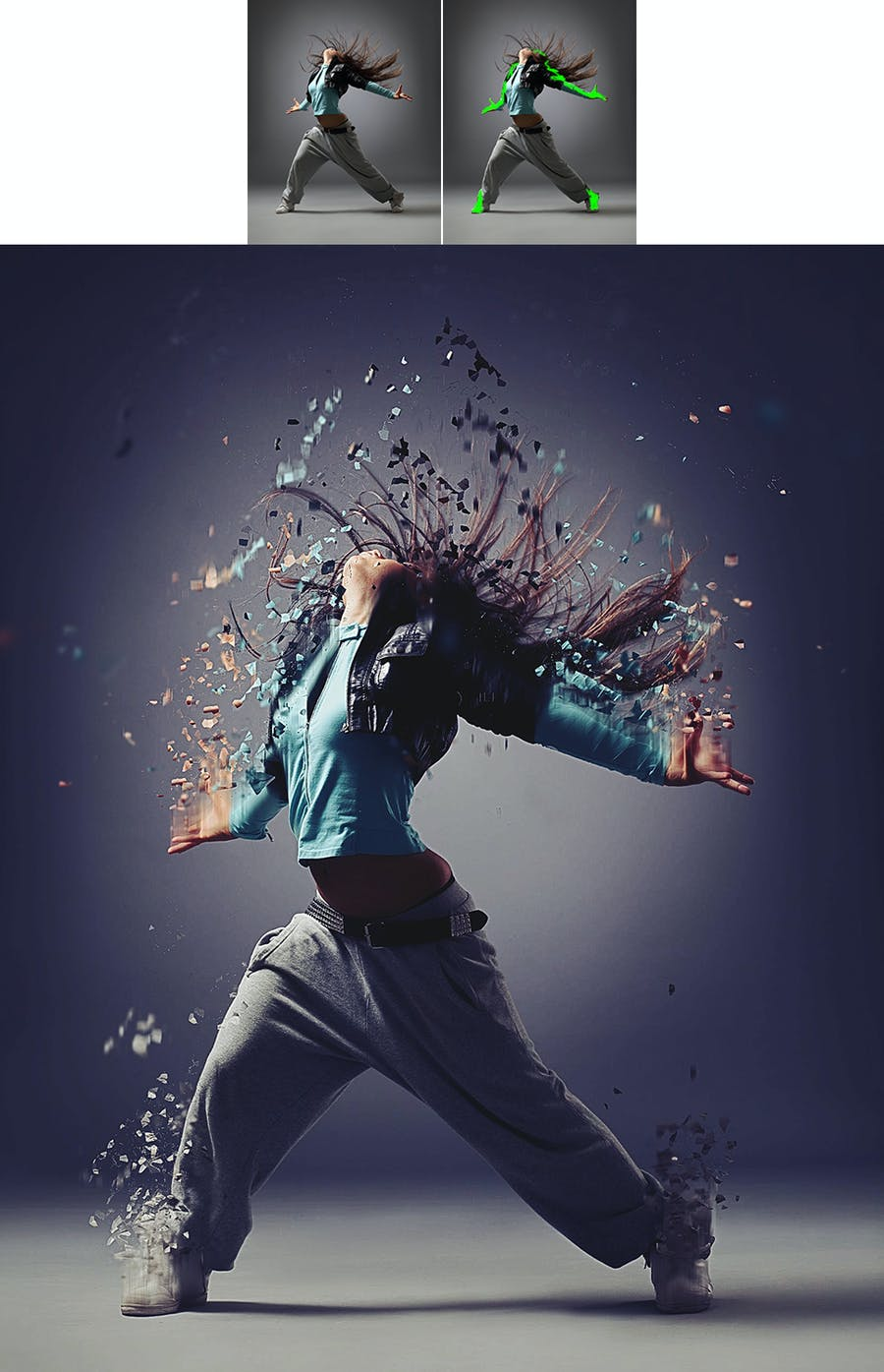 Dispersion Photoshop Action - 3