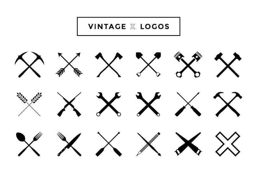 Vintage X Logos - 0