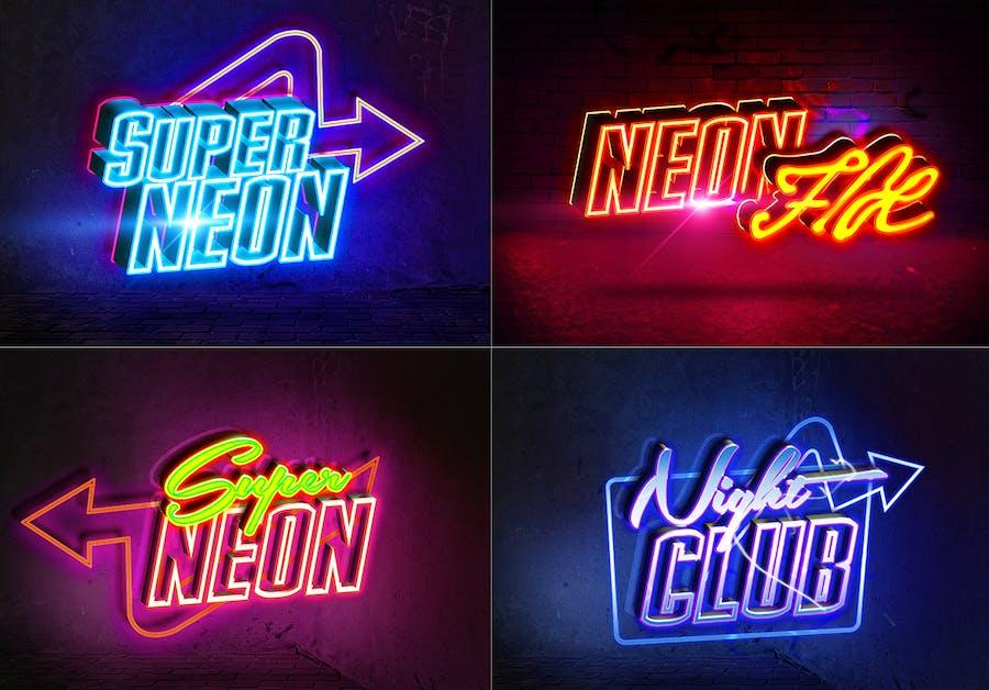 Neon Sign Styles v4 - 0