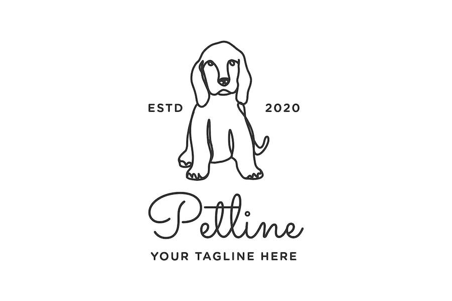 Petline Logo Template - Dog - 2