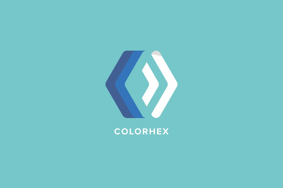 Color Hex Logo Template - 0