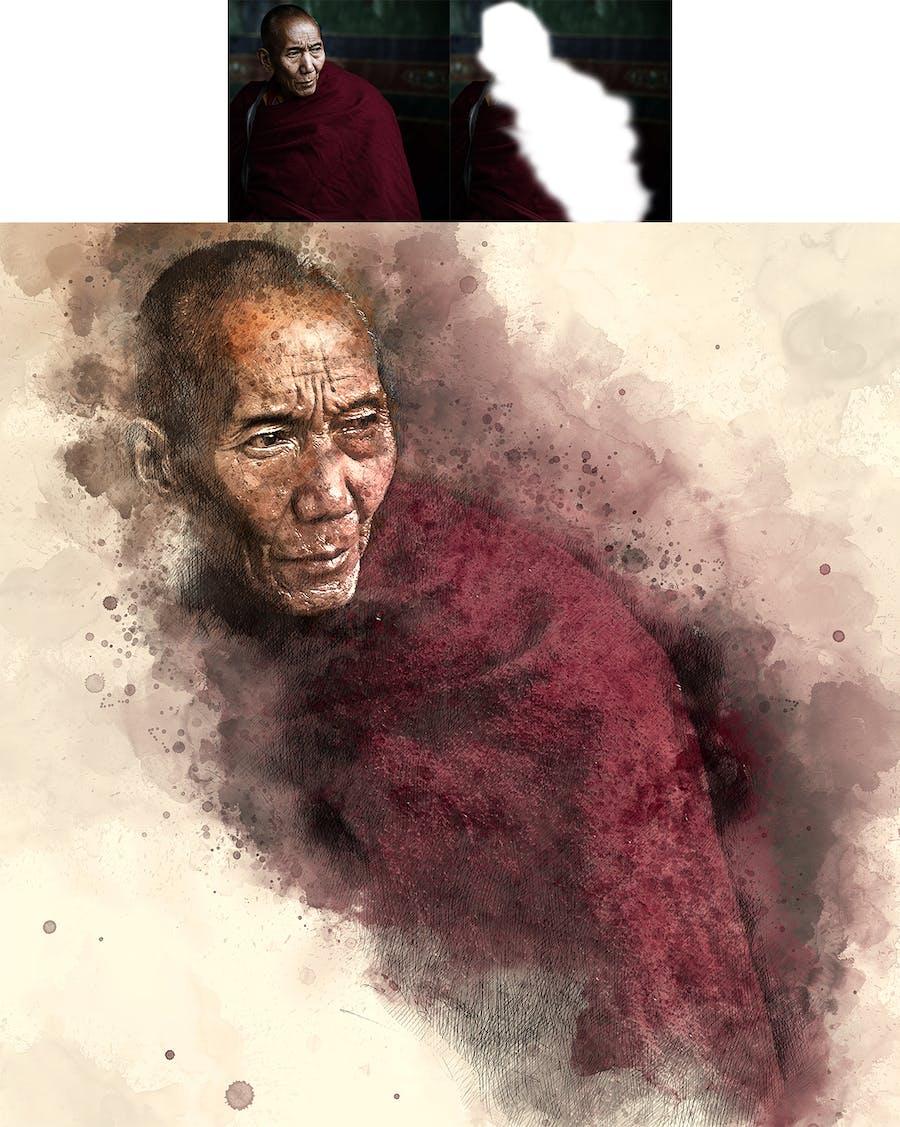 Artist Photoshop Action - 1