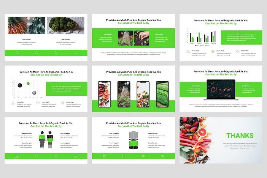 Greenes - Organic Keynote Template - 3