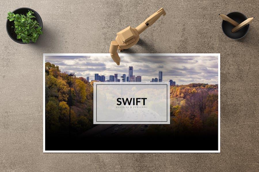 Swift -  Keynote Template - 0