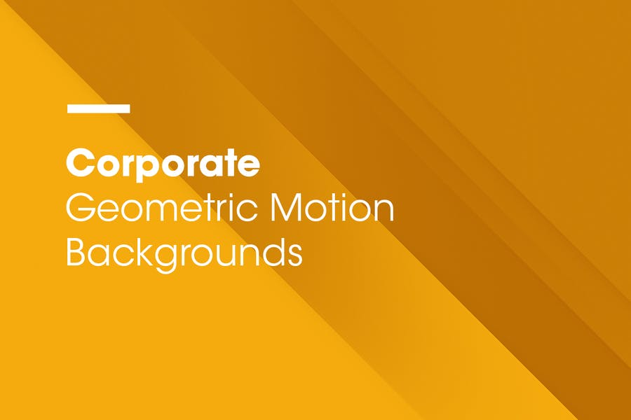 Corporate | Geometric Motion Backgrounds | Vol. 02 - 1