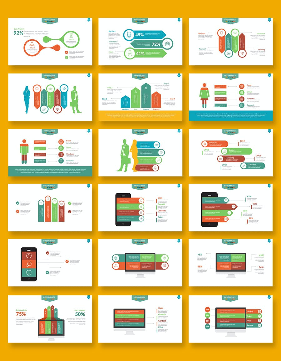 Infographics Powerpoint - 3