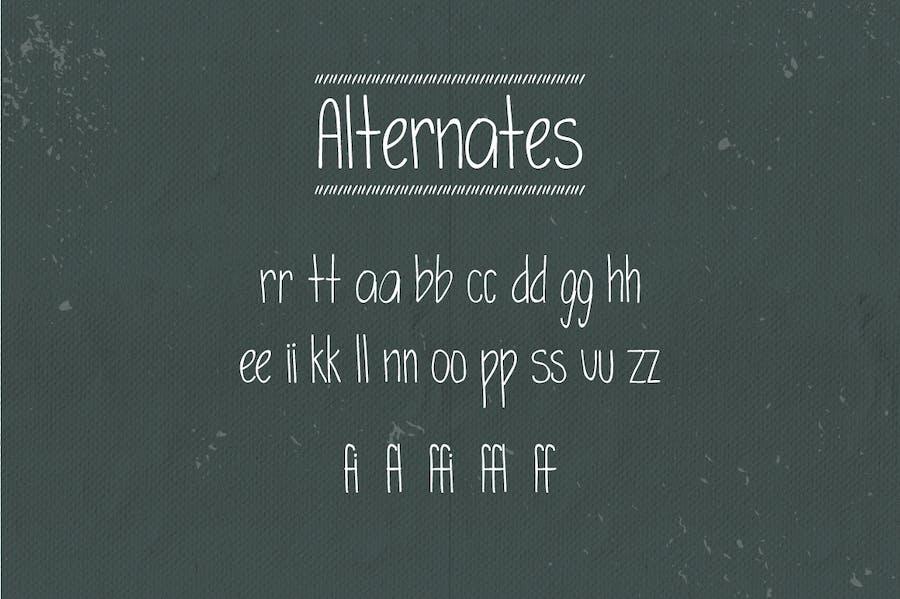Simplicity Typeface - 3