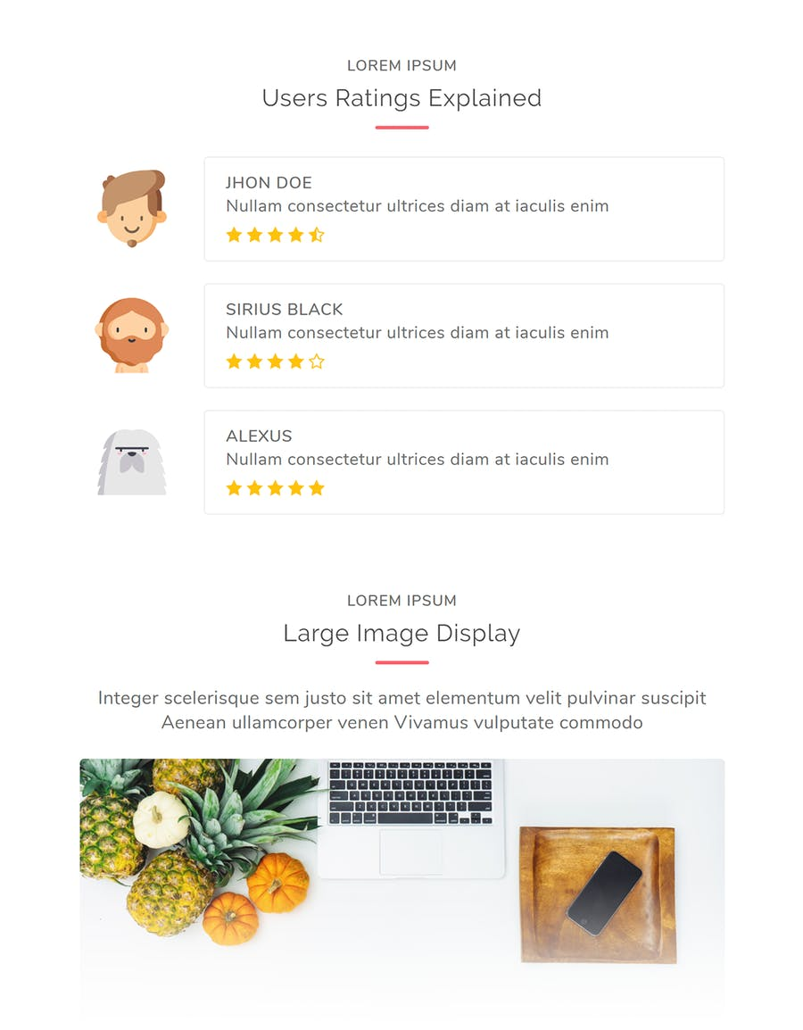 Events Responsive Multipurpose Email Template - 1
