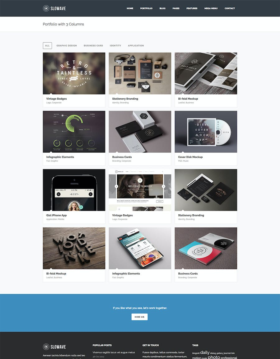 Slowave - Multipurpose Responsive HTML5 Template - 2