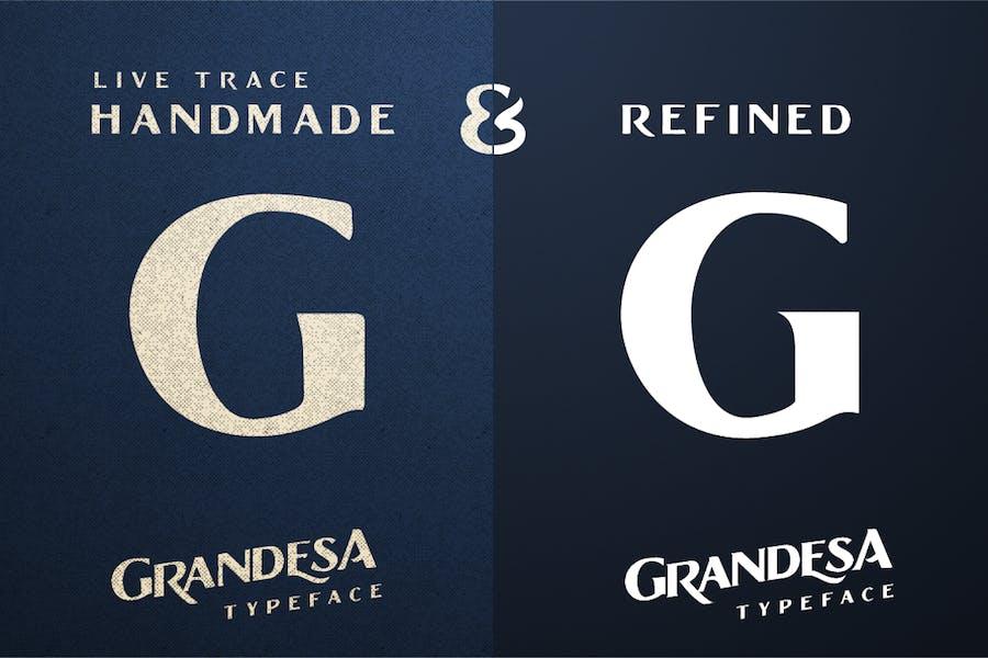 Grandesa Typeface - 1