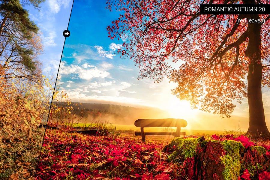 Romantic Autumn Lightroom Presets - 0