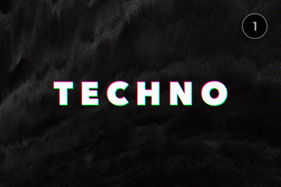 Glitch Text Effects Collection - 1
