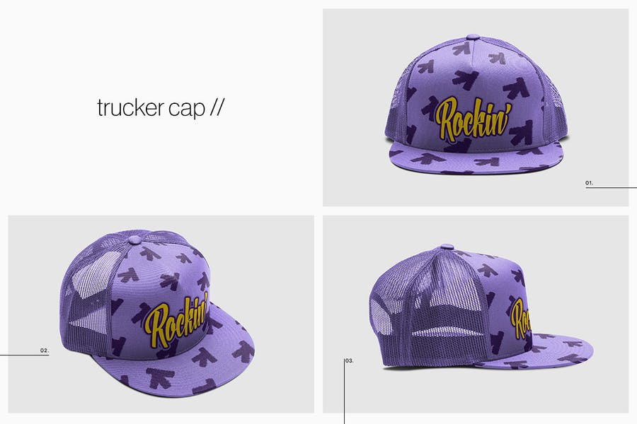 Cap Collection Mockup - 1