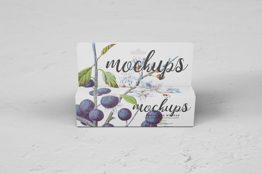 Paper Box Mockup 10 - 2