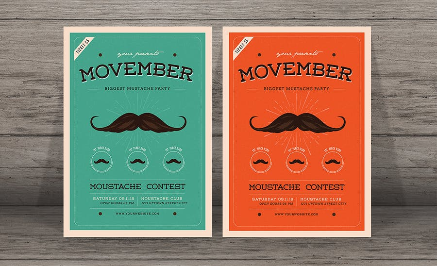 Movember Event Flyer - 0