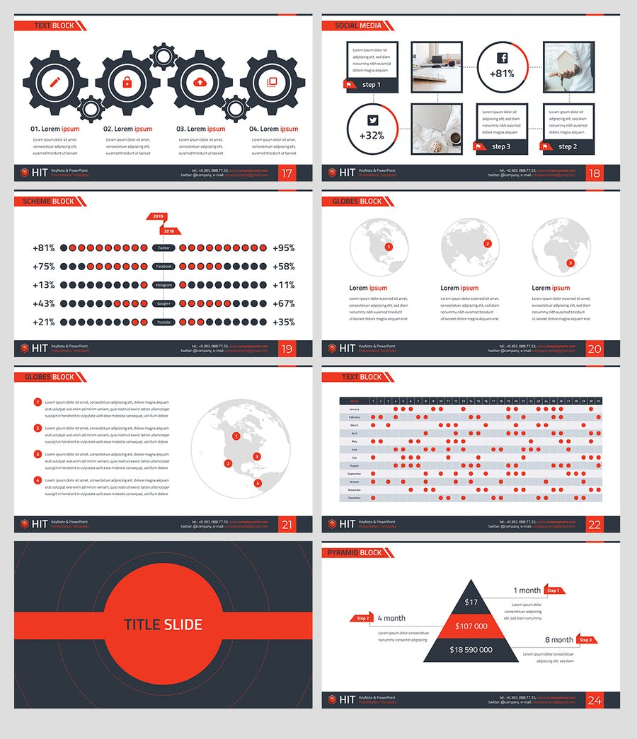HIT - Professional PowerPoint Template - 3