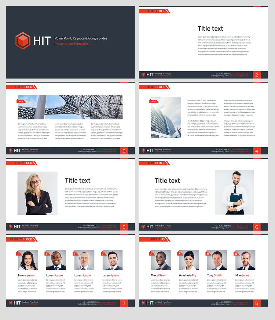 HIT - Professional PowerPoint Template - 1
