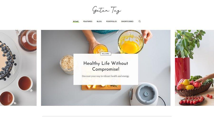 GutenTag - 100% Gutenberg Blog WordPress Theme - 3