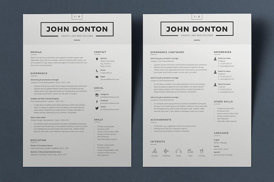 Resume John - 0