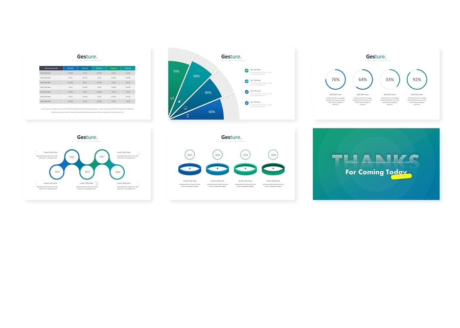 Gesture - Powerpoint Template - 2