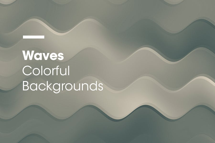 Waves | Colorful Backgrounds - 1