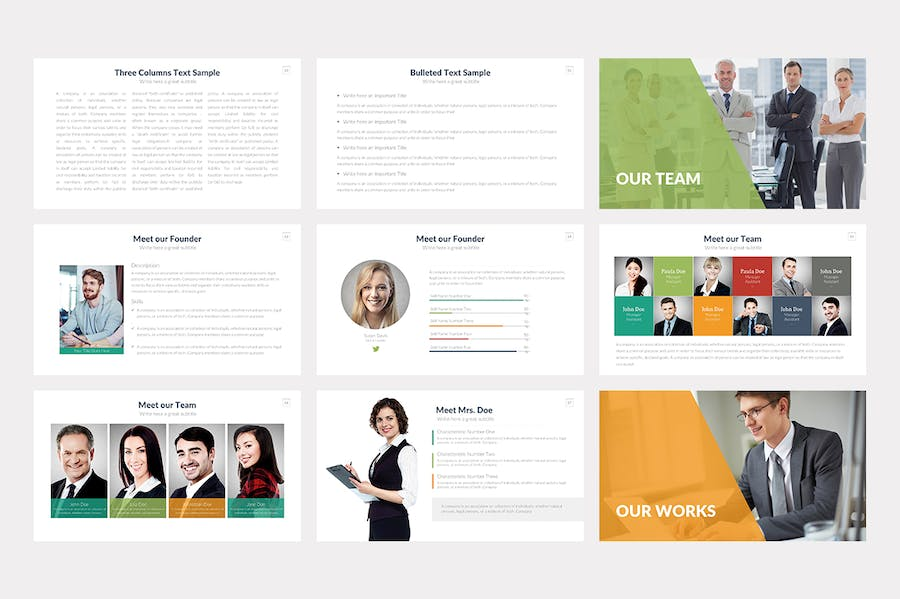 Startup Keynote Template - 1