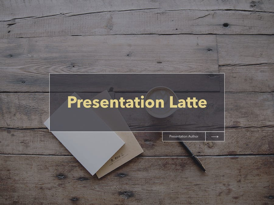 Latte Keynote Template - 0