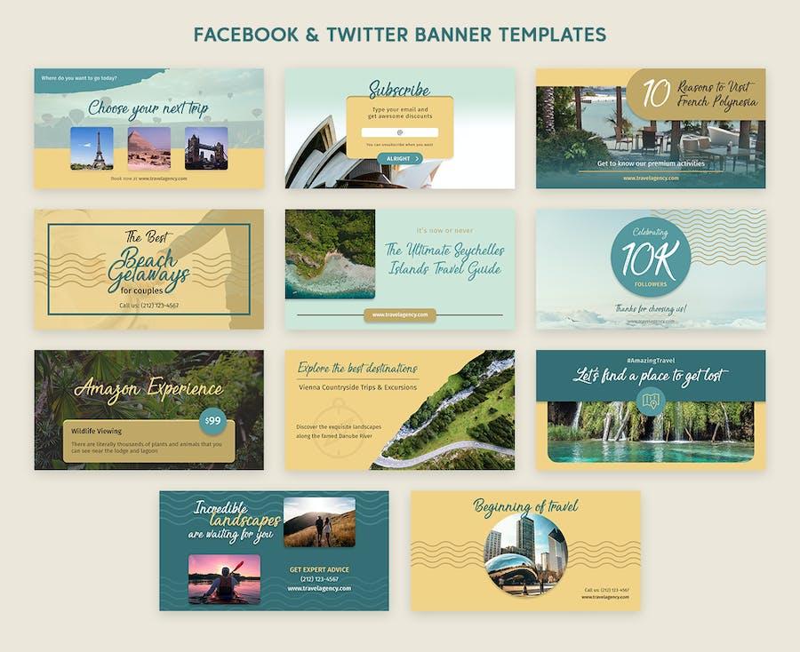 Social Media Pack - 2