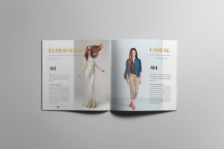 Lookbook / Product Catalog - 3