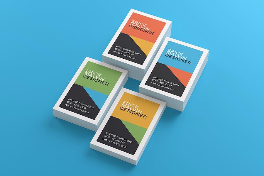 UK Business Cards Mock-up's [85×55 mm] - 1