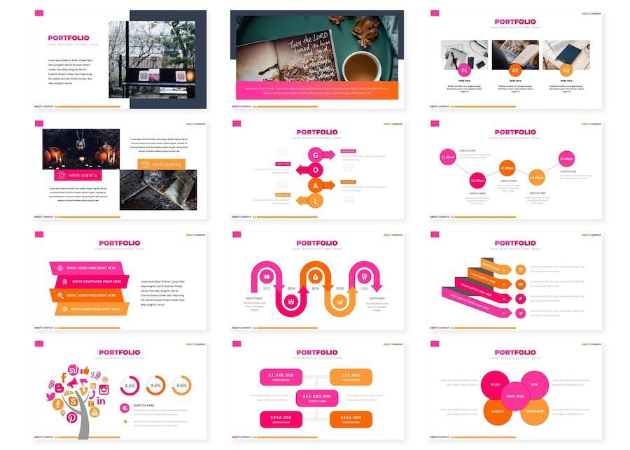 Portfolio - Powerpoint Template - 1