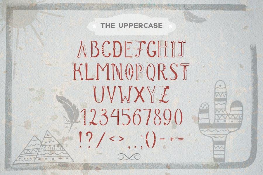 Patrick font & Lettering Kit - 3