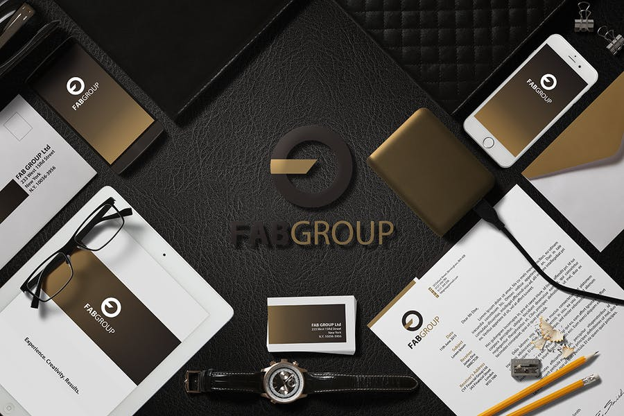Branding / Identity Scene Creator - 1