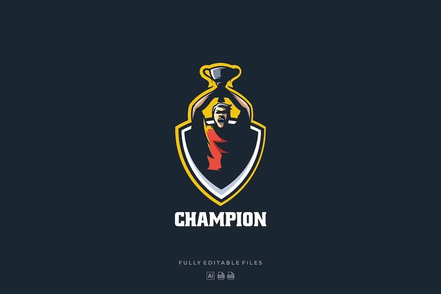 Championship Sports and E-sports Logo - 0